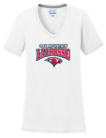 Oak Mtn. Lacrosse Women's White T-Shirt