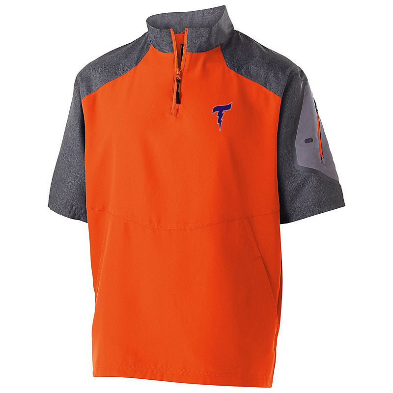 Illiana Thunderbolts Orange/Carbon Short Sleeve Pullover
