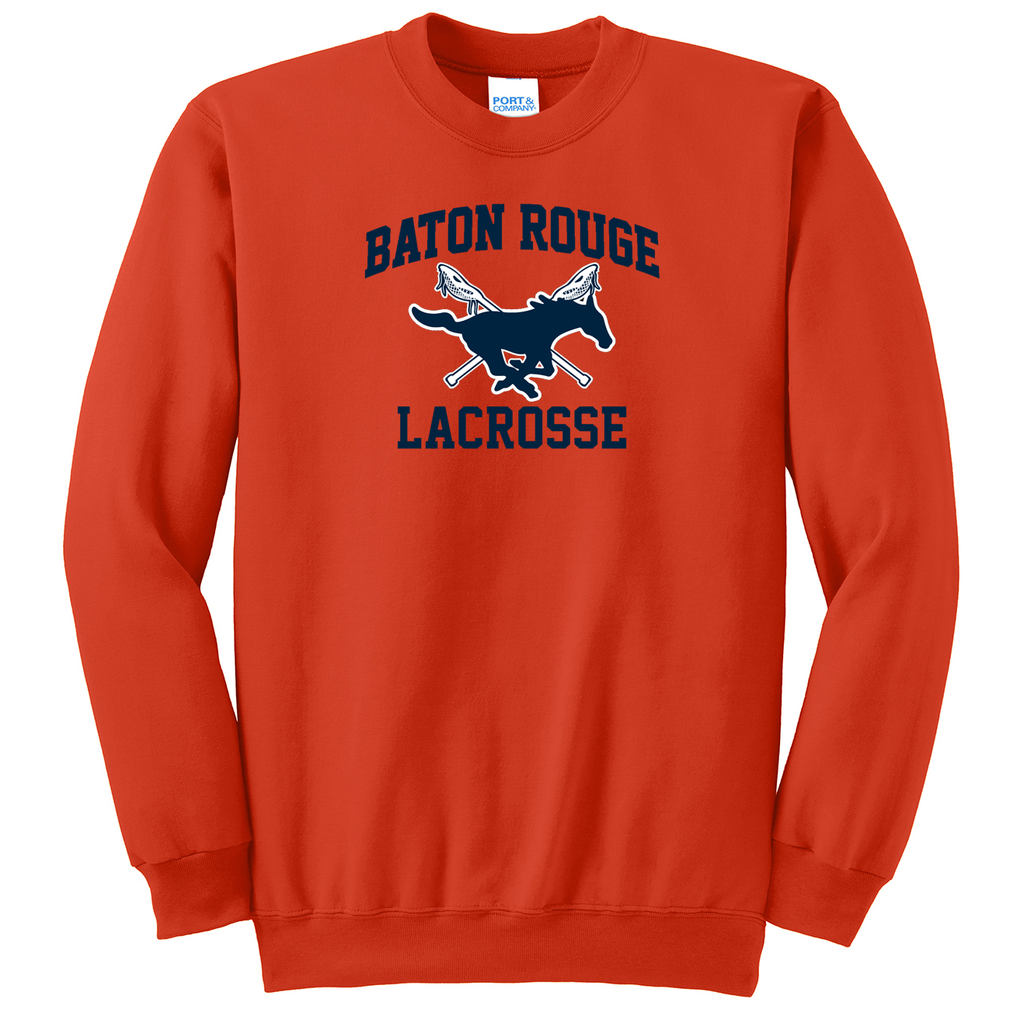Baton Rouge Mustangs Crew Neck Sweater