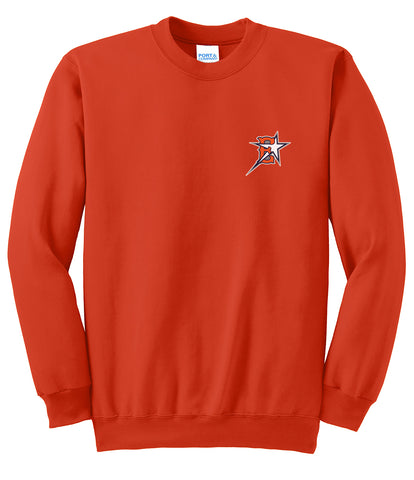 Eastvale Girl's Softball Crew Neck Sweater