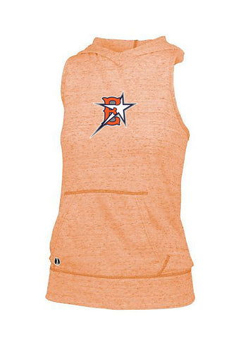 Eastvale Girl's Softball Women's Hooded Tank