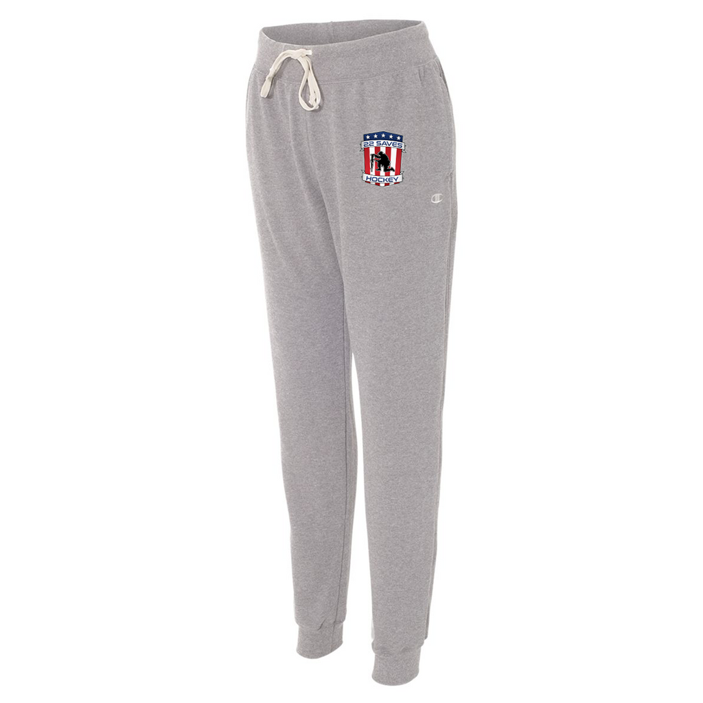 22 Saves Hockey Champion Womens Joggers