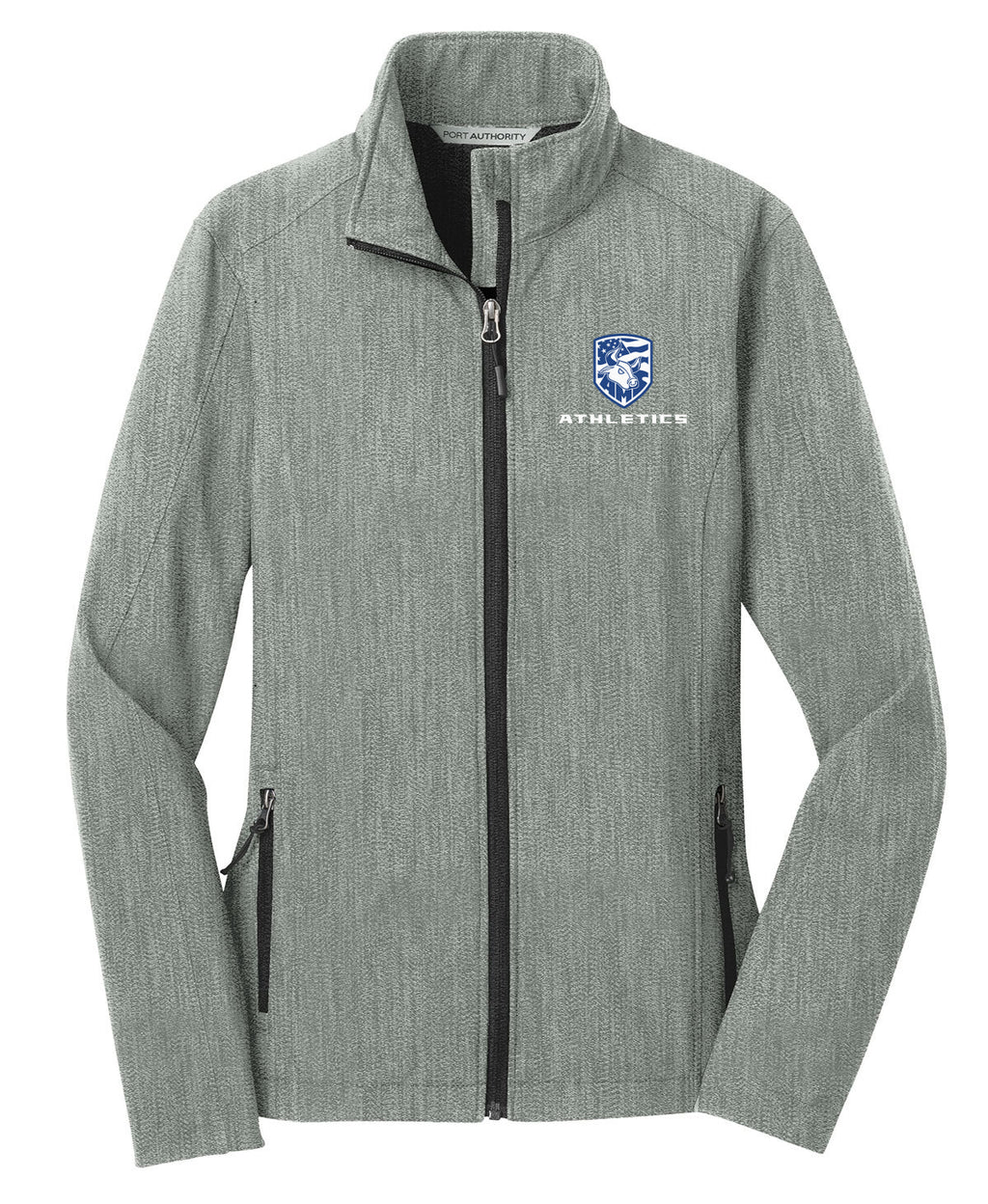 Accompsett Middle School Women's Pearl Heather Soft Shell Jacket