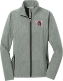 Augusta Patriots Women's Pearl Grey Soft Shell Jacket