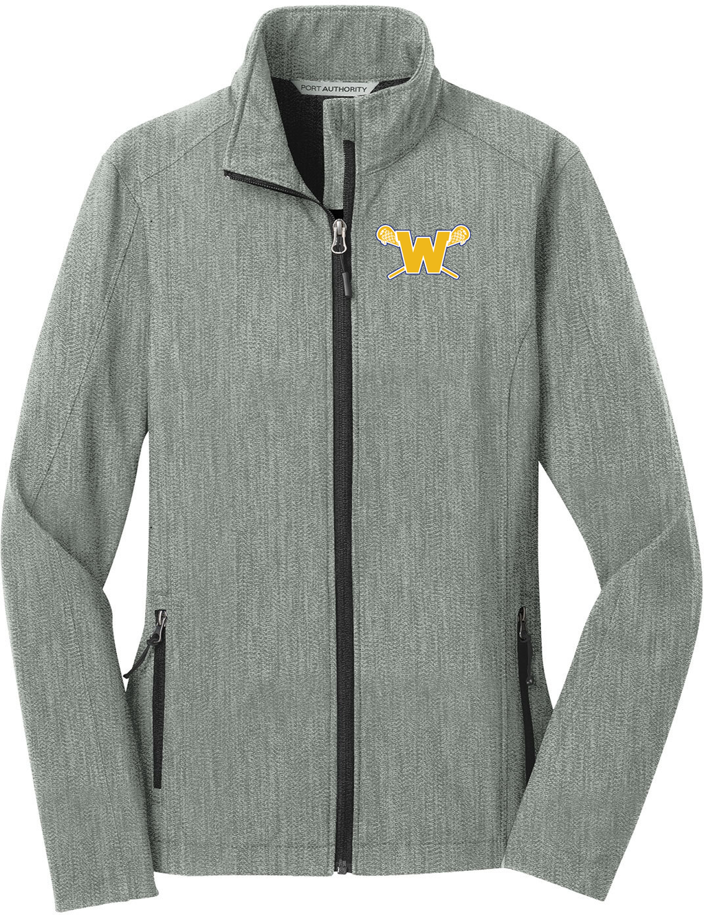 Webster Lacrosse Pearl Grey Women's Soft Shell Jacket