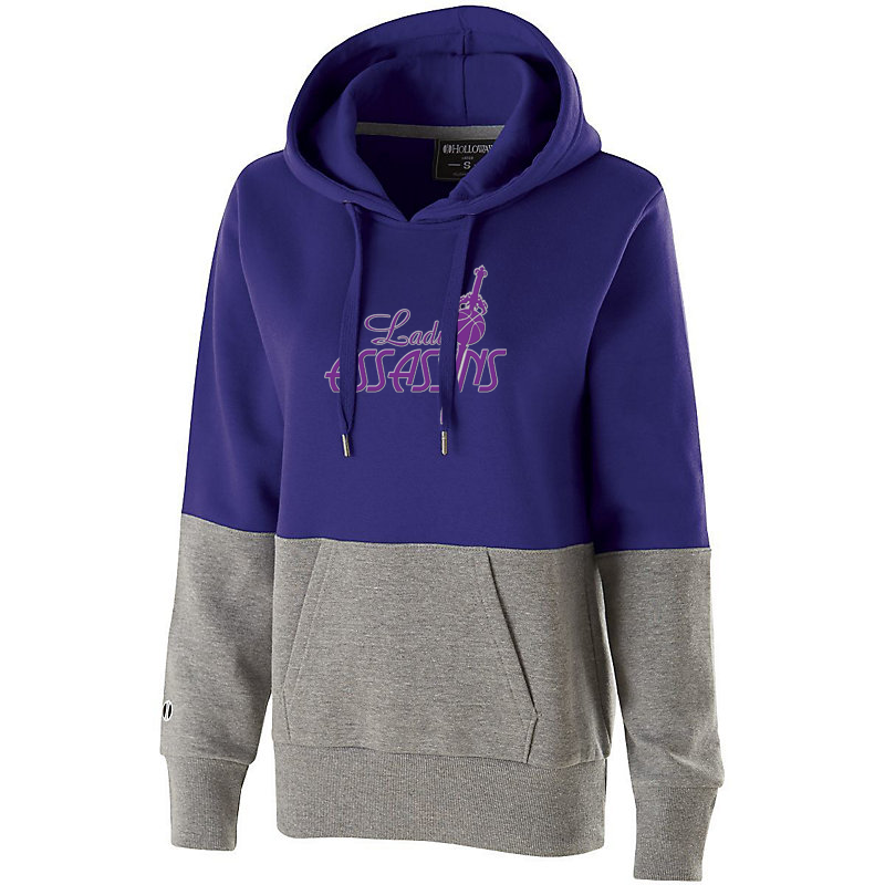 Lady Assassins Basketball Women's Colorblock Hoodie