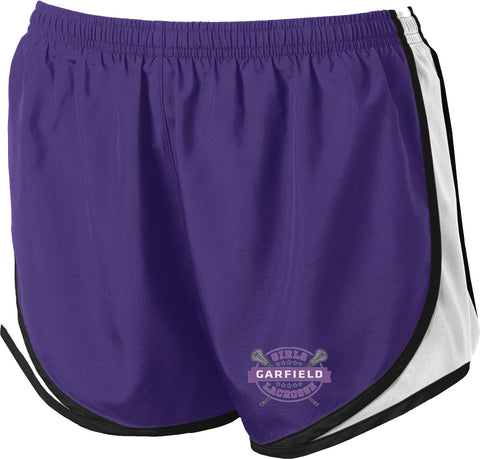 Garfield Women's Purple/White Shorts