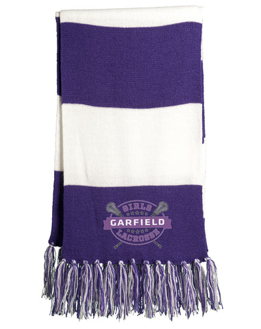 Garfield Purple/White Team Scarf