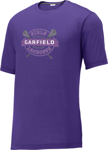 Garfield Purple CottonTouch Performance T-Shirt
