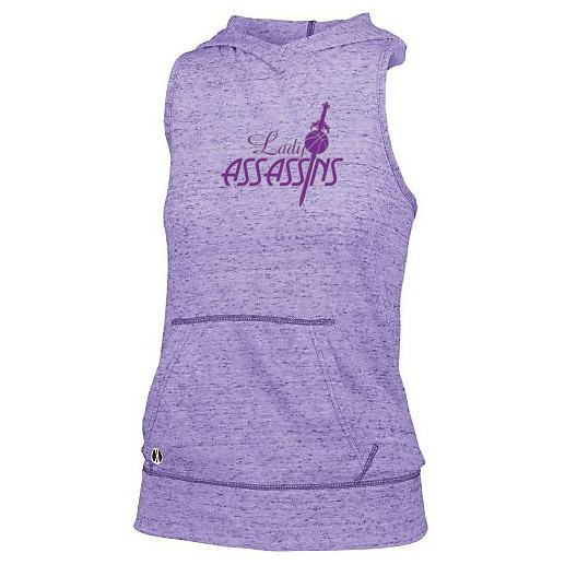 Lady Assassins Basketball Women's Hooded Tank