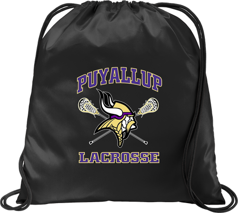 Puyallup Lacrosse Black Cinch Pack