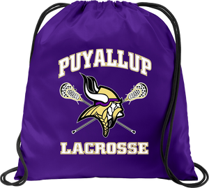 Puyallup Lacrosse Purple Cinch Pack