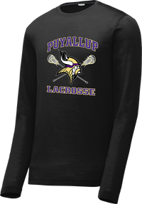 Puyallup Lacrosse Black Long Sleeve CottonTouch Performance Shirt