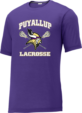 Puyallup Lacrosse Purple CottonTouch Performance T-Shirt