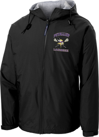 Puyallup Lacrosse Black Hooded Jacket