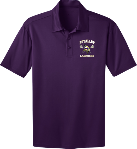 Puyallup Lacrosse Purple Polo