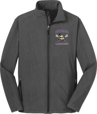 Puyallup Lacrosse Charcoal Soft Shell Jacket
