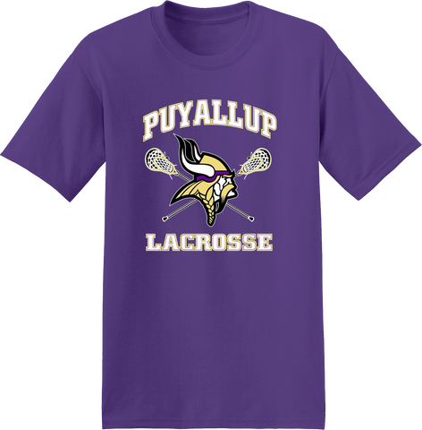 Puyallup Lacrosse Purple T-Shirt