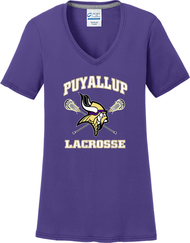 Puyallup Lacrosse Women's Purple T-Shirt