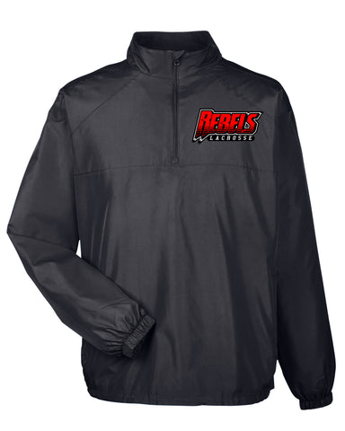 Rebels Lacrosse Quarterzip
