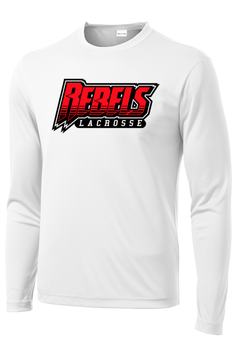 Rebels Lacrosse Long Sleeve Performance Shirt