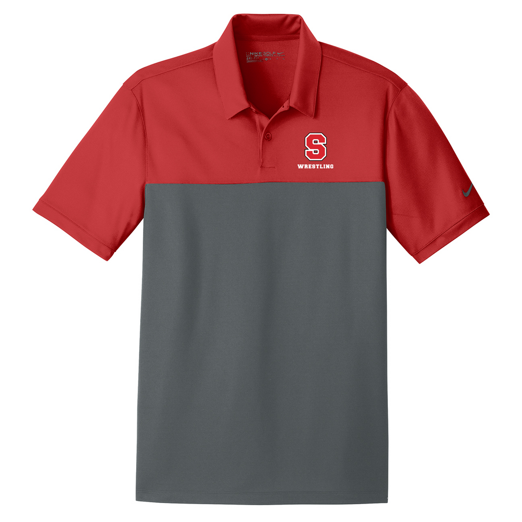 Syosset Wrestling Nike Dri-FIT Colorblock Polo