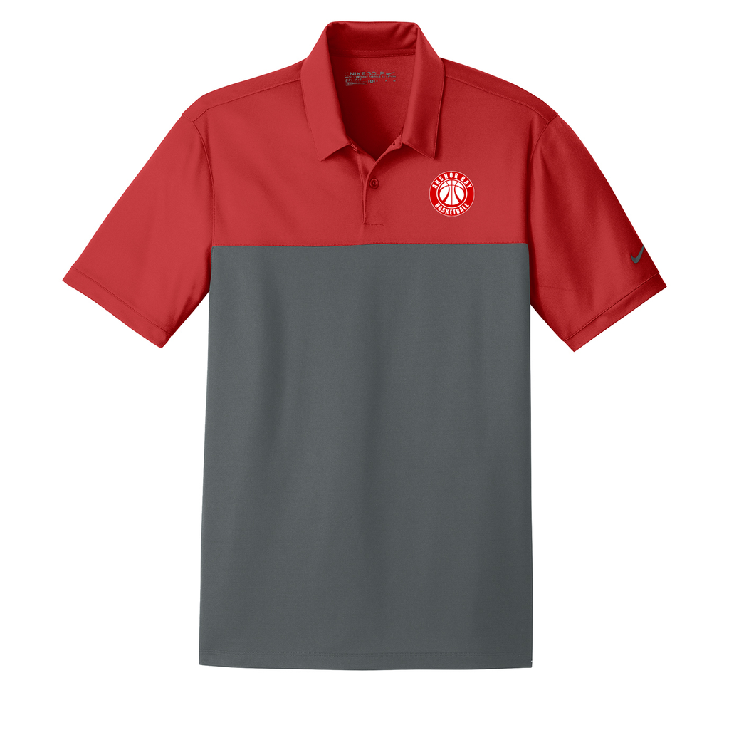 Anchor Bay Basketball Nike Dri-FIT Colorblock Polo