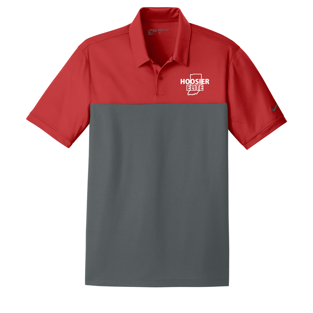 Hoosier Elite Basketball  Nike Dri-FIT Colorblock Polo