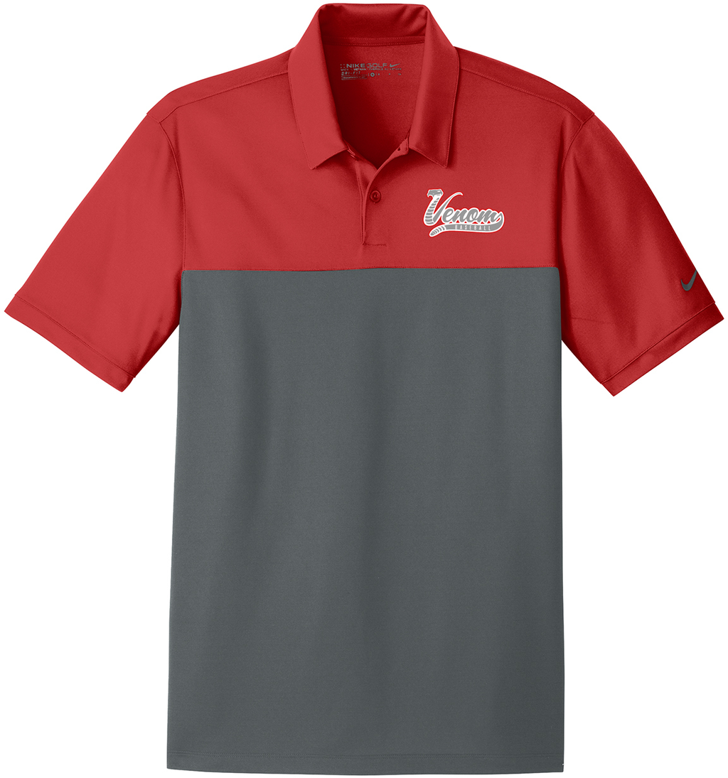 Valley Venom Baseball Nike Dri-FIT Colorblock Polo