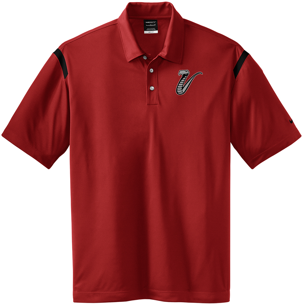 Valley Venom Baseball Nike Dri-FIT Stripe Polo