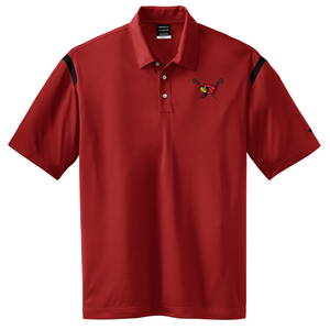 Bellaire Lacrosse Nike Dri-FIT Stripe Polo