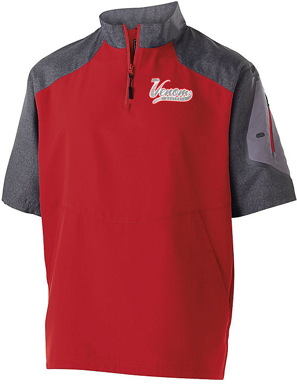 Valley Venom Baseball Short Sleeve Pullover