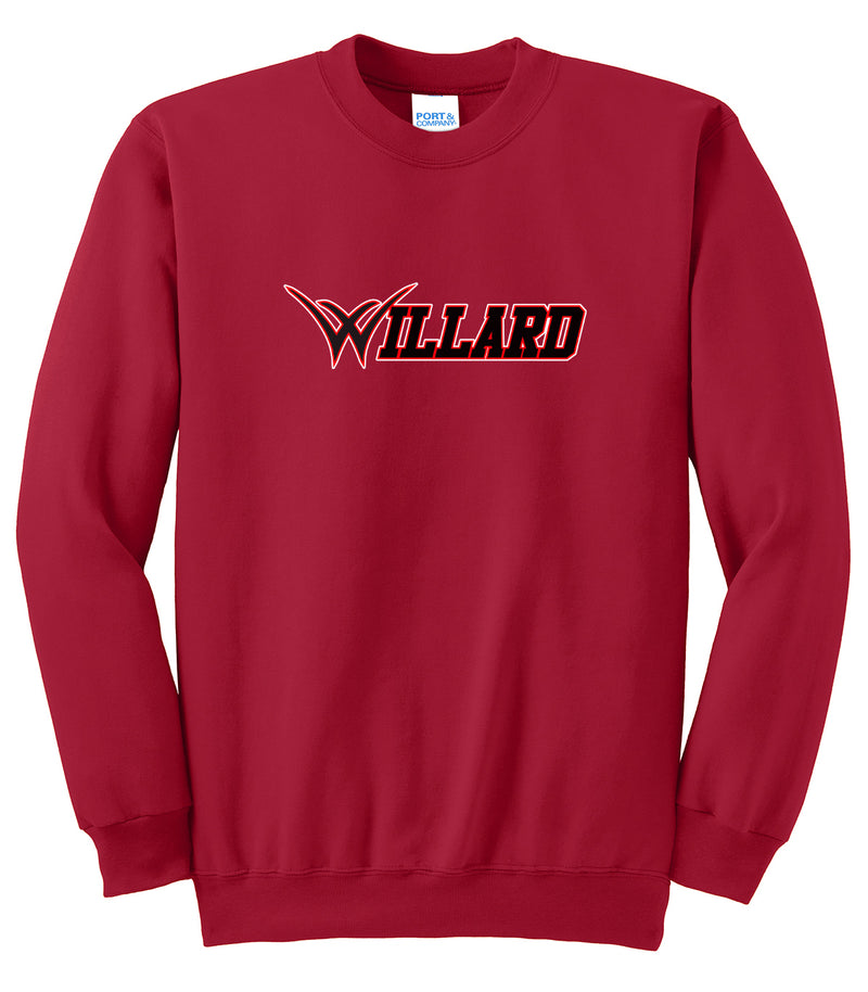 Willard Tigers Baseball Crew Neck Sweater