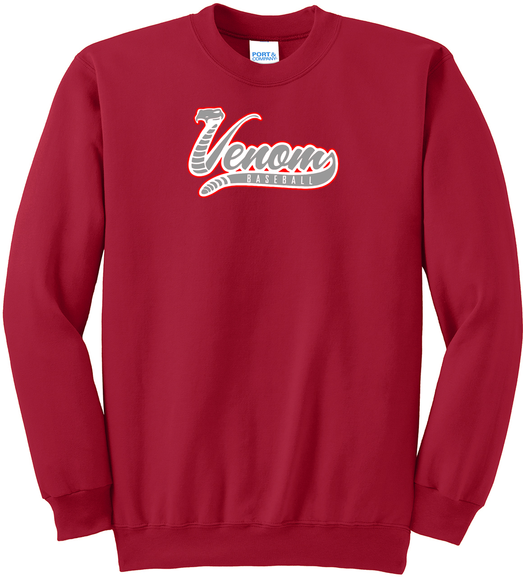 Valley Venom Baseball Crew Neck Sweater