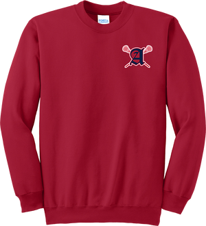 Augusta Patriots Red Crew Neck Sweater