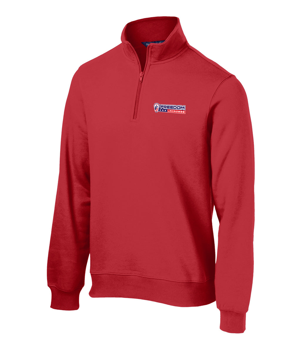 Freedom Lacrosse 1/4 Zip Fleece