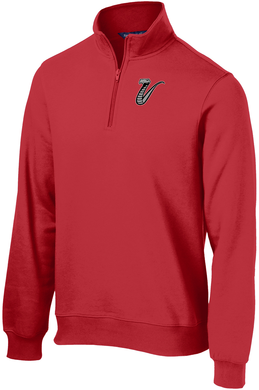 Valley Venom Baseball 1/4 Zip Fleece