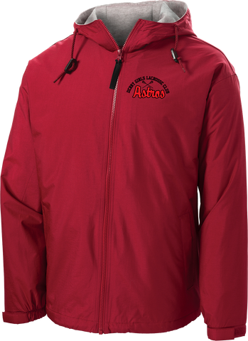 Derry Girls Lacrosse Red Hooded Jacket