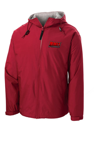 Rebels Lacrosse Hooded Jacket