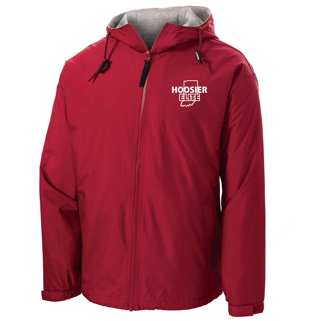 Hoosier Elite Basketball Hooded Jacket