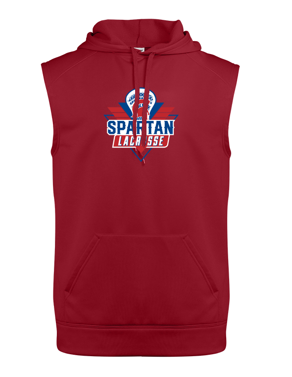 Bixby Youth Lacrosse Sleeveless Hoodie