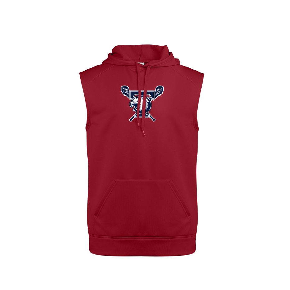 Tolland Lacrosse Club Sleeveless Hoodie