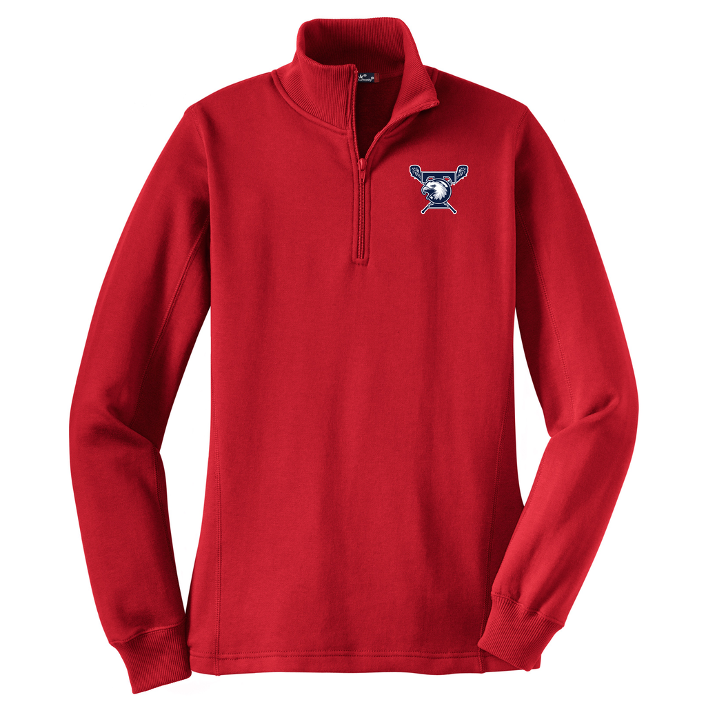 Tolland Lacrosse Club Women's 1/4 Zip Fleece
