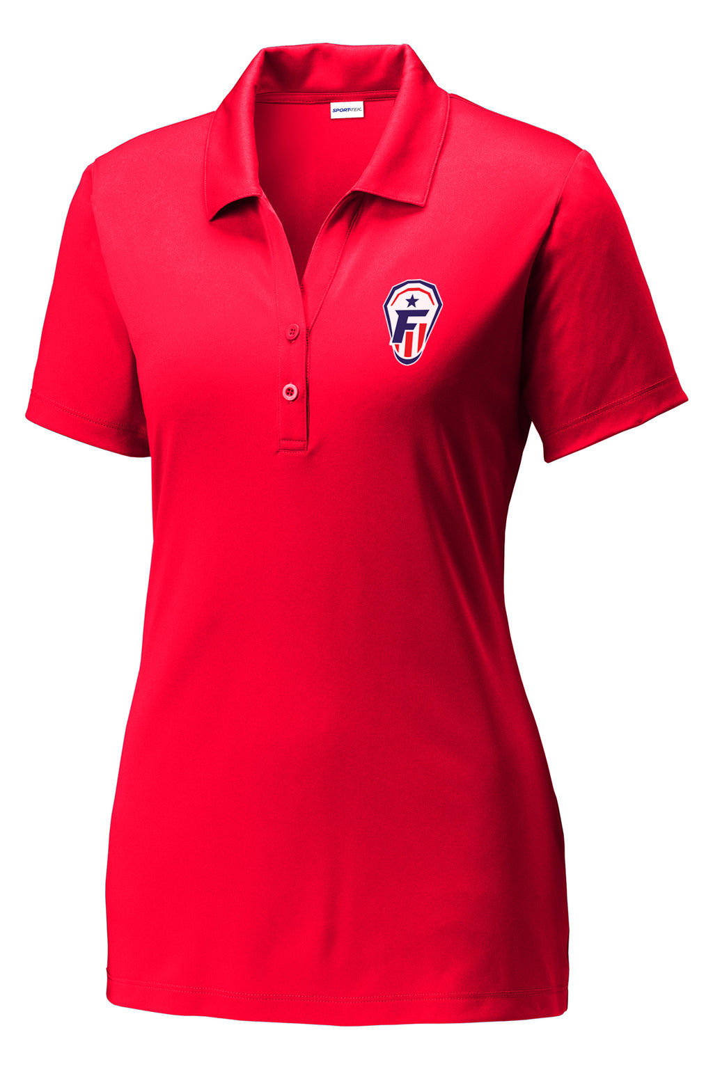 Freedom Lacrosse Women's Red Polo
