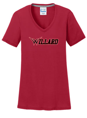Willard Tigers Baseball Women's T-Shirt