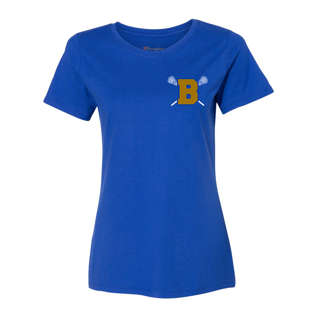 Brentwood Lady Lacrosse  Champion Womens T-Shirt
