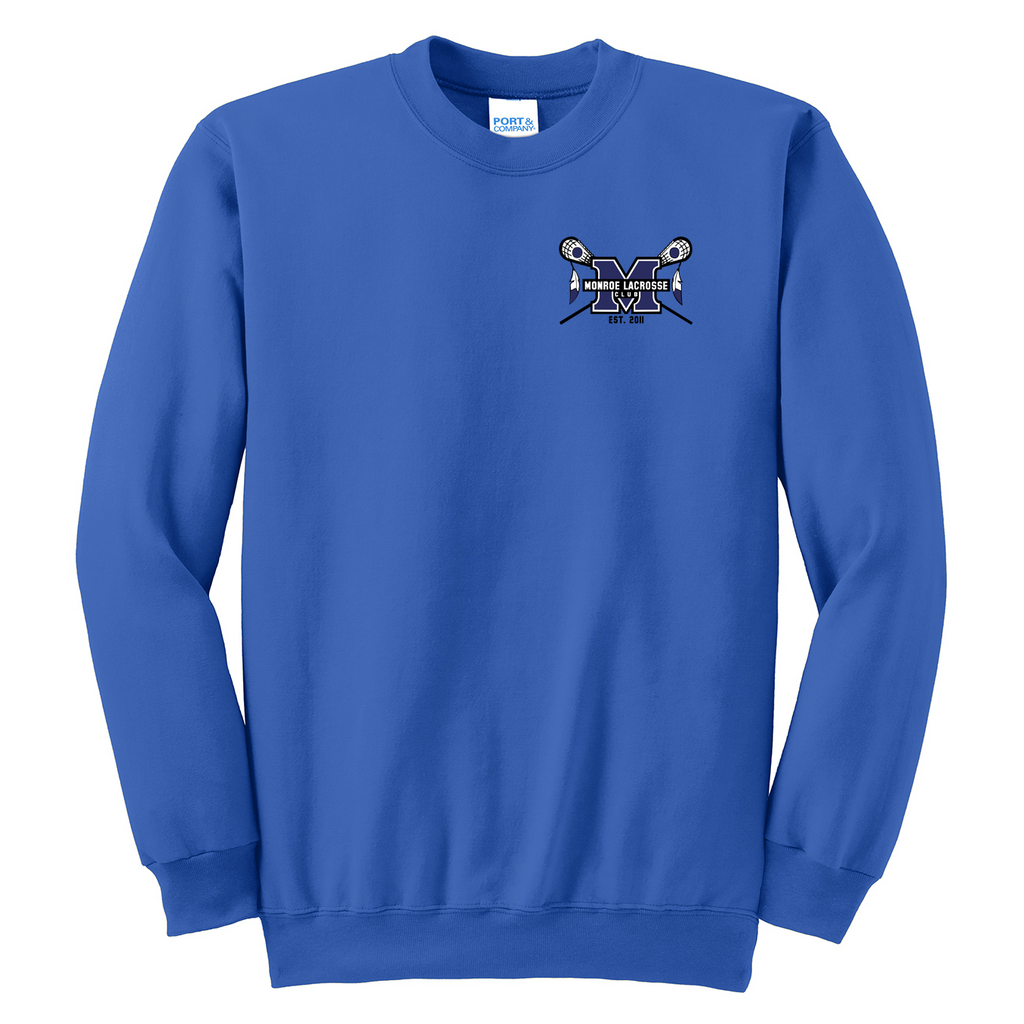 Monroe Braves Crew Neck Sweater