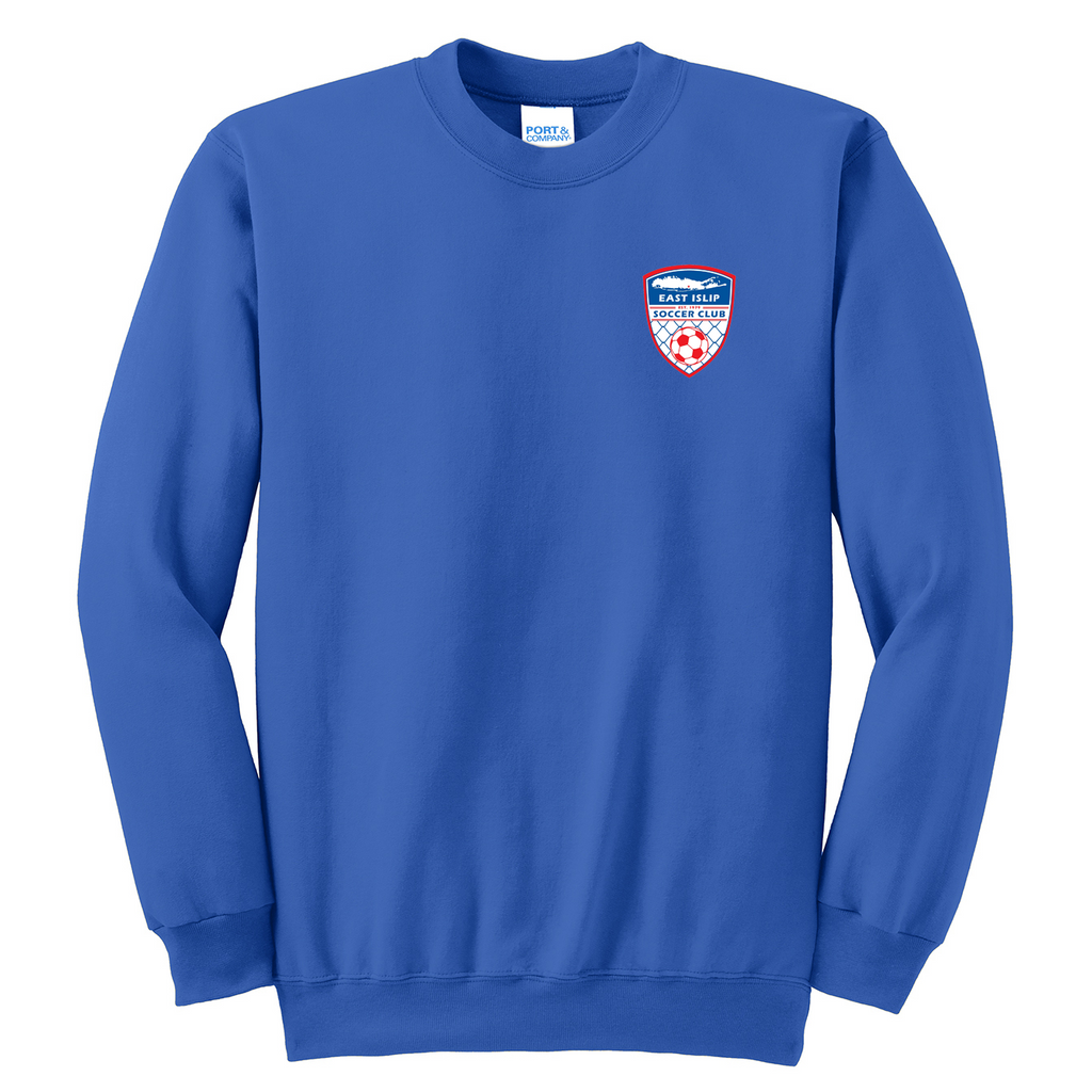 East Islip Soccer Club  Crew Neck Sweater