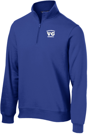 Blue Devils Baseball 1/4 Zip Fleece