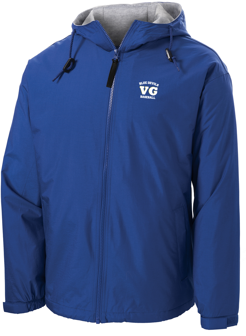 Blue Devils Baseball Hooded Jacket